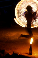 Fire Spinning, Thailand